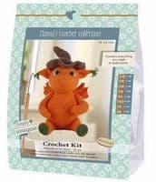Go Handmade Crochet Kit Jonas Dragon